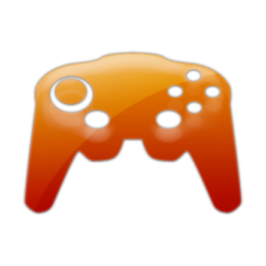 orange game controller - video game truck and laser tag party in Greenville NC