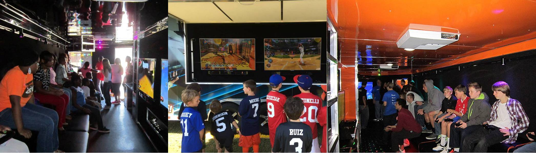 Video game truck parties in Greenville and Pitt County North Carolina