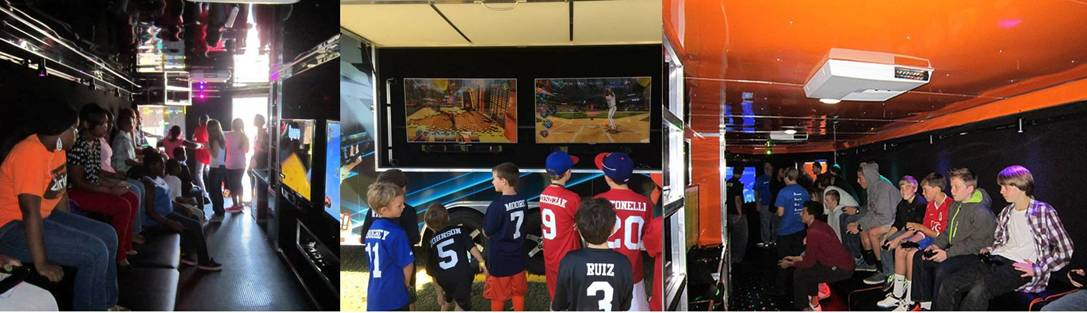 Video game truck party in Greenville NC